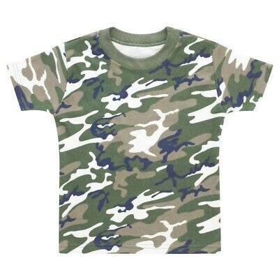 M/&S Baby Boys  Green camouflage youth club 84 Sweatshirt Top Ages 18-24mth SALE