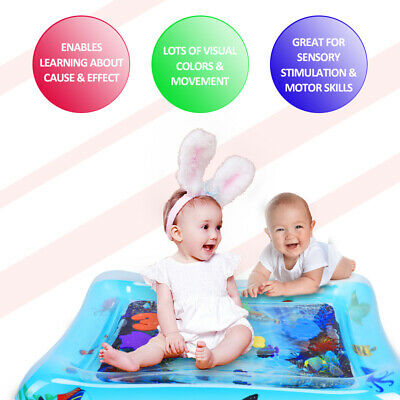 Inflatable Baby Water Mat Novelty Play for Kids Children Infants Funny 60*51cm 3