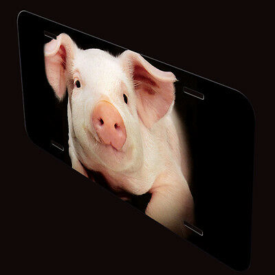 Pig Aluminum Personalized Novelty Auto License Plate P06