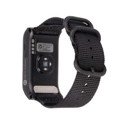Replacement Nylon Canvas Watchband Wrist Band Strap For Garmin VIVOACTIVE HR UK 9