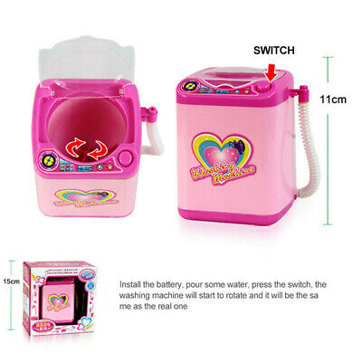1Pc Cute Electric Cosmetic Powder Puff Washing Machine Makeup Brushes Cleaner 9