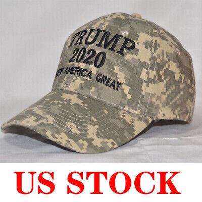 Donald Trump 2020 Keep America Great Cami Cap President Election Camo MAGA Hat 3