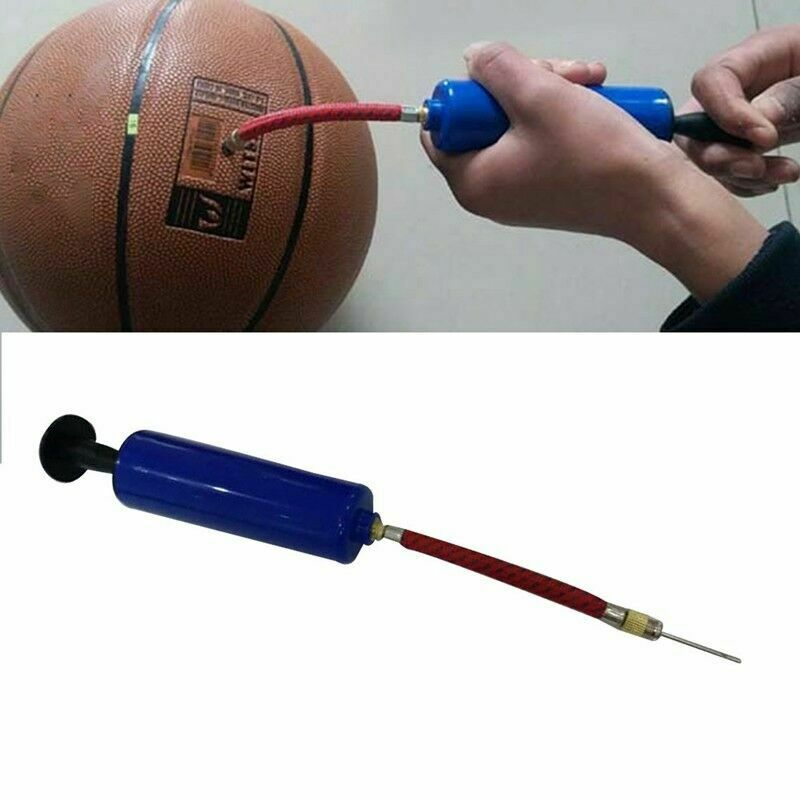 Fast Inflating Hand Air Pump With Needle Adapter For Ball Football Beautiful Wzt 2
