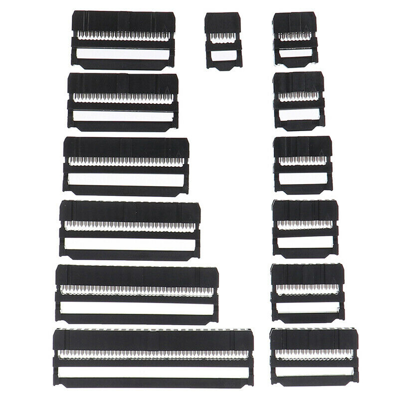 10x 6/8/10/12/14-50Pin IDC Socket Plug Ribbon Cable Connector 2.54mm Pitch xiSBF 4