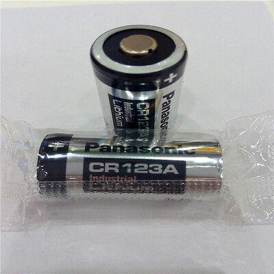 4pcs Panasonic CR123 CR123A CR17345 K123 16340 3V Lithium Camera Photo Batteries 6