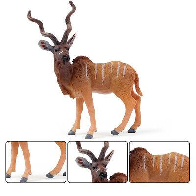 12inch Lifelike Tibetan Antelope Model Decor for Home//Office//Garden//Farmyard