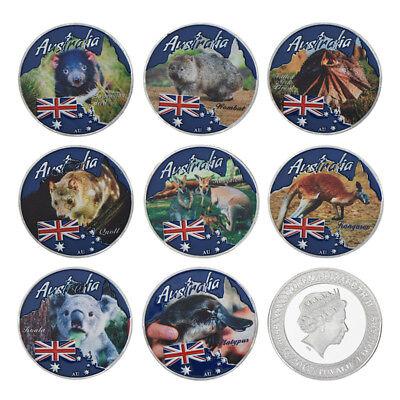 WR 2017 Australia Endangered Animal Colored Silver Coin Commemorative Set $1