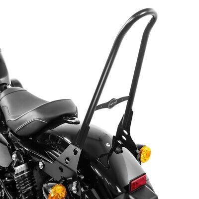 Sissy Bar con Portapacchi e kit di montaggio per Harley Davidson Sportster 883 Iron 09-20 nero