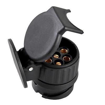 KFZ Kurz Mini Adapter von 13-polig (Fahrzeug) auf 7-polig (Anhänger) PKW 2