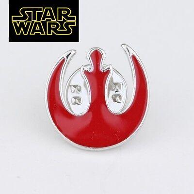 STAR WARS REBEL ALLIANCE Logo Metal Pin brooch prop badge darth vader cosplay 2