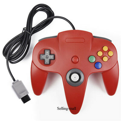 N64 Controller Joystick Gamepad Long Wired for classic Nintendo 64 Console Games 7