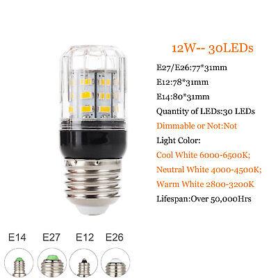 E27 E14 B22 LED Mais Birne 5730 SMD 9W 12W 15W 20W 25W 30W 35W Helle weiße Lampe 4
