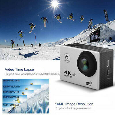Ultra 4K Full HD 1080P Video Recorder Sports Camera WiFi Cam DV Action Camcorder 11