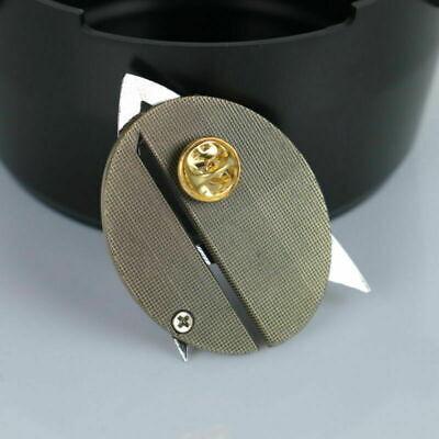 Star Trek Picard Combadge Rank Pips Set Command Science Engineering Pin Brooch 8