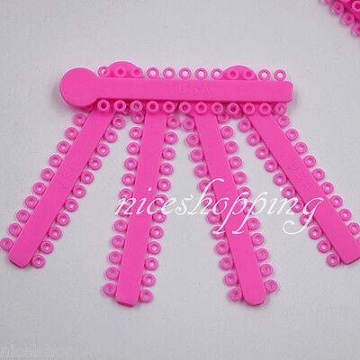 10 Packs Ligature Tie 44 Colors For Chose 10080 Pcs Dental Orthodontics Elastic 6