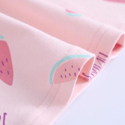 Girls Nightdress Nightie Pyjamas Cotton Long sleeve Nightwear Age 3-16 Years * 5