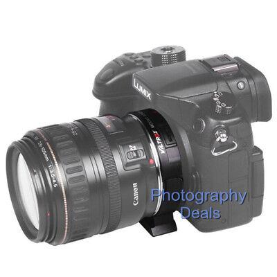 Viltrox EF-M2 II AF Adapter Focal Reducer Booster For Canon EF Lens to M43 MFT 7