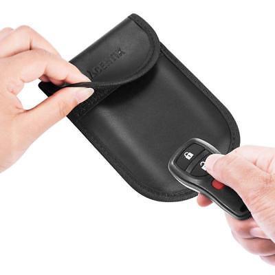 Car Keyless Key Entry Fob Anti-Theft Signal Guard Blocker Case Pouch Faraday Bag 5
