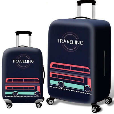 """Elastic Luggage Cover Dustproof 18""""-32"""" Thicker Suitcases Trolley Protector Case 11"""