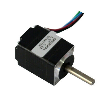 Mini Nema 8 20mm 2-Phase 4-Wire Precision Stepper Motor DIY Robot CNC 3D Printer 5