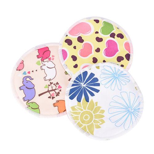 Bamboo Reusable Breast Pads Nursing Maternity Organic Washable Pad WaterproofGNC 6