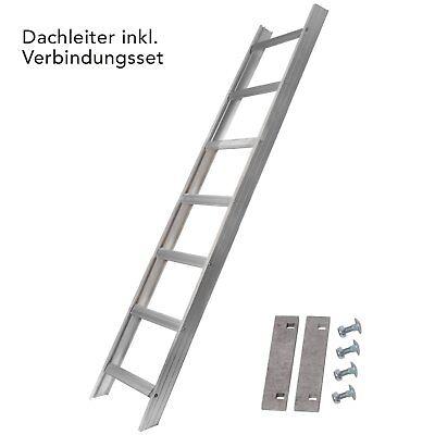 NEU Alu Dachleiter Set 1,68 bis 10,08 m Made in Germany DEKRA geprüft + Zubehör