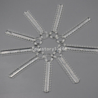 Dental Orthodontics Ligature Ties Elastic Elastomeric Bands Clear Color 1040 Pcs 7