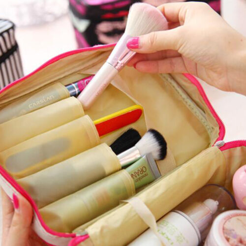 Women Cosmetic Make Up Travel Toiletry Bag Pouch Organizer Handbag Case Storage 10