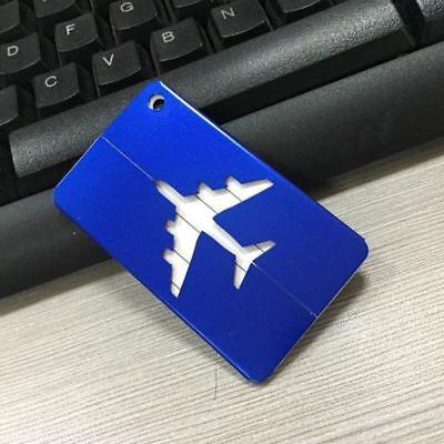 Aluminium Travel Luggage Tag Baggage Suitcase Bag Identity Address Name Labels 5