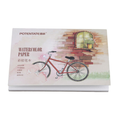 Sketchbook Stationery Watercolor Paper Sketch Notepad For Painting Supplies BS 9