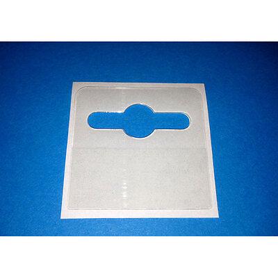 300 Self Adhesive 42x40 Hang Tab Euro / Slot / Hooks Hanging Tabs 4