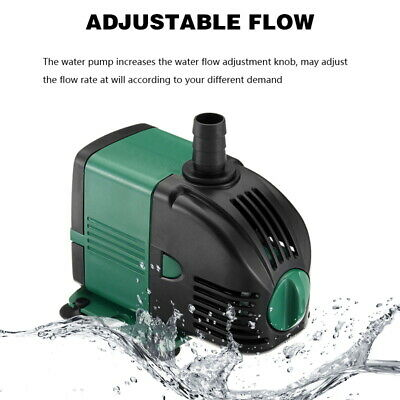 Water Pump Feature Fountain Outdoor Garden Fish Pond Completely Submersible UK 6