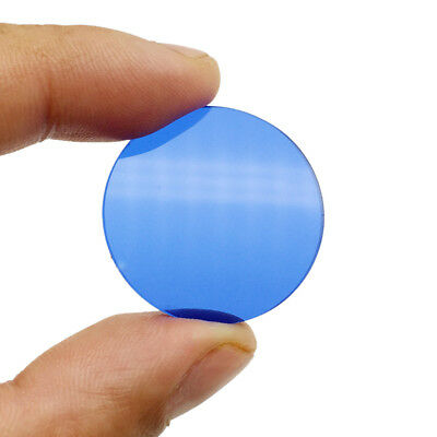 Microscope Blue Color Filter 45 42 35 32 mm Diameter for Biological Microscope 6