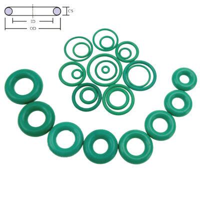 10pcs Oil Resistant FKM Viton Fluorine Rubber Sealing O-Ring OD 4-32mm CS 1mm 4