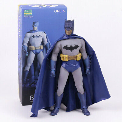 """Crazy Toys DC Comic 12"""" Batman Brave and Bold Blue Action Figure Statue Model 3"""