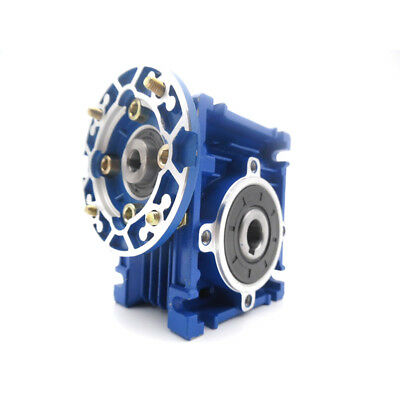 Worm Gear Reducer Speed Ratio 10:1 15:1 30:1 NMRV030 56B14 for Stepper Motor 4