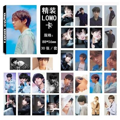 Lot of & KPOP Bangtan Boys Personal Collective Poster Photo Card Lomo Cards 11