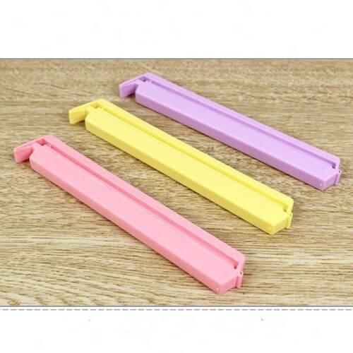 12pcs/set Size Househould Seal Pliers Food Snack Storage Sealer Clip Clamp L 4