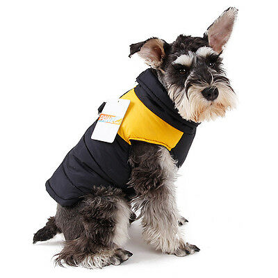 Pet Dog Vest Clothes Small Puppy Dogs Winter Warm Waterproof Jacket Coat Apparel 6