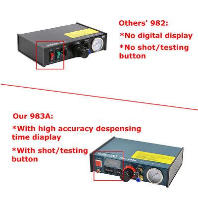 Auto Glue Dispenser Solder Paste 983A Digital Display Liquid Controller Dropper