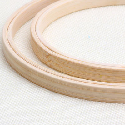 1PC New Wooden Cross Stitch Machine Embroidery Hoop Ring Bamboo Sewing 13-30cm 8