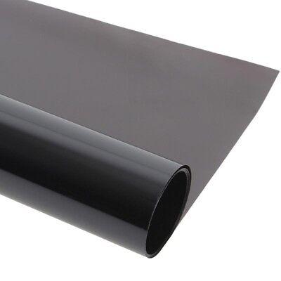 0.5m*3m Ultra Black Tint Car Limo Van Window Film Reduce Solar Sun Glare DT4