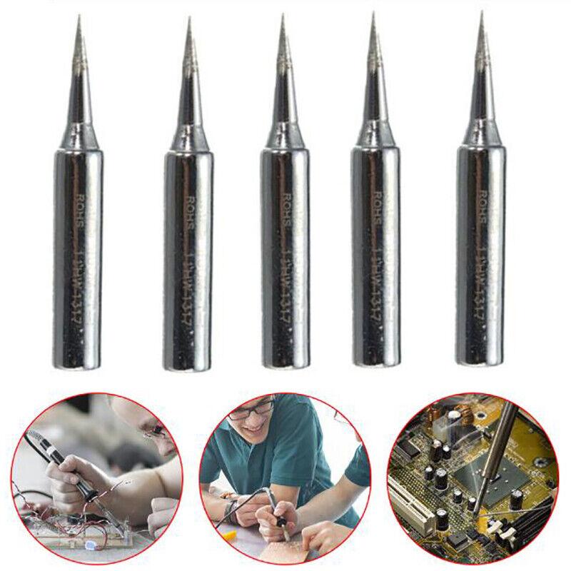 5PCS/Set 900m-T-I Welding Tool Lead-Free Solder Tips Replacement Soldering UR 5
