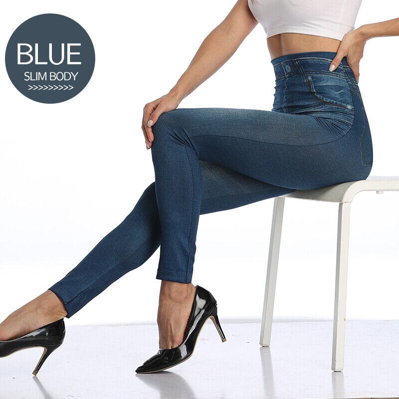 Pencil Pants Leggings Women Jeans Denim Design Pencil Pants Leggings High Waist 9