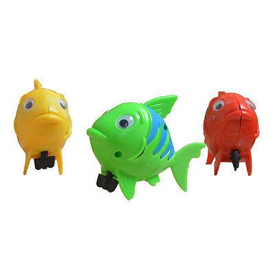 Wind-up Frog Swimming NPol Bath Time Animal Clockwork Floating Kid Baby Toy TWUK 8