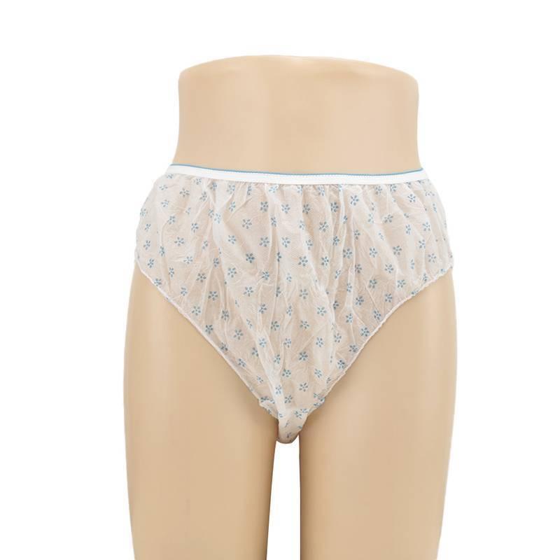 7pcs Women Cotton Pregnant Panties Underwear Travel Disposable Briefs 4