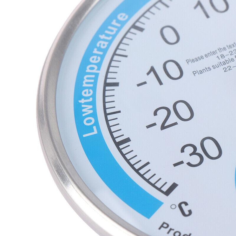 Runde Haushalt Analog Thermometer Hygrometer Feuchtemessgerät Messgerät GaugRSPF