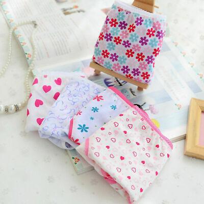 Girls 3 pack underwear knickers briefs 100% COTTON panties Age 3-11 years 5