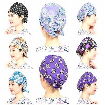 2e8c8ab49ae ... 72 Kinds Men Women Doctor/Nurses Printing Scrub Cap Medical Surgical  Surgery Hat 4