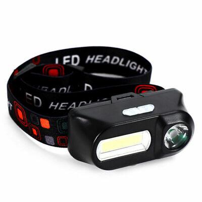 6 Modes USB Rechargeable COB LED Headlamp Headlight Head Light Torch Flashlight 9